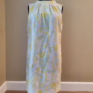 Vintage 1960s Helen Whiting Pastel Shift Dress